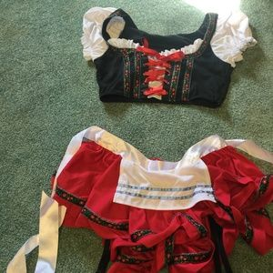 Beer girl costume size small